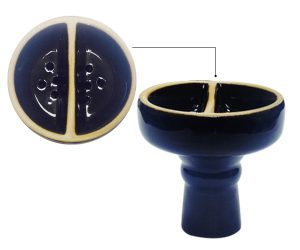 The Double Compartment Hookah Bowl Image