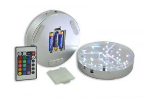 The LED Rechargeable Hookah Lights Base Image