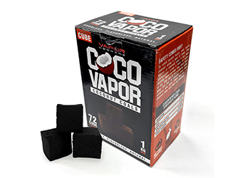 CocoVapor Coconut Charcoal Cube 72 Image